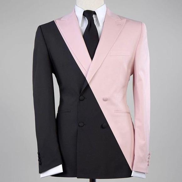 Other - Men's Black Pink 2 Piece Suit